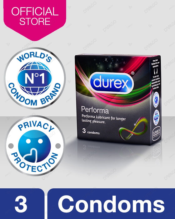 Durex Performa Condom - Pack of 3