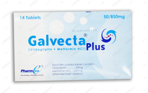Galvecta Plus 50/850mg Tablet