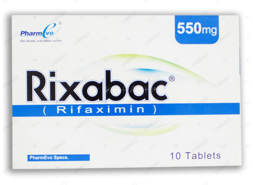 Rixabac 550mg Tablet