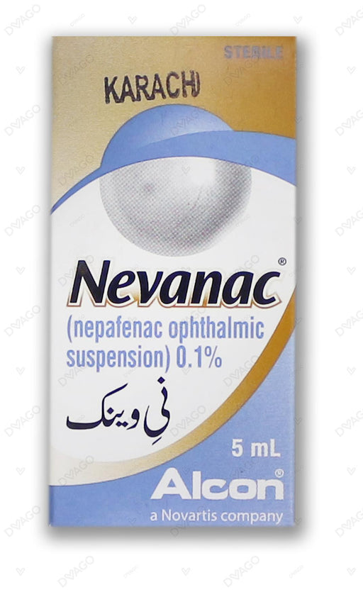 Nevanac 0.1% 5ml Drop