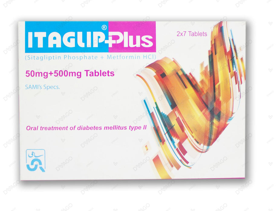 Itaglip Plus 50mg/500mg Tab