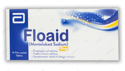 Floaid 10mg Chewable Tablets 14's