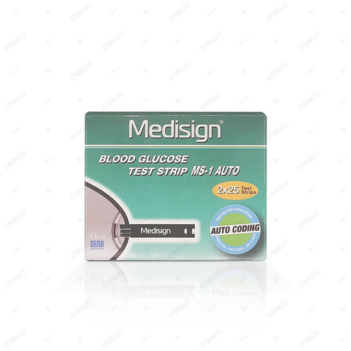 Medisign Test Strip 50's