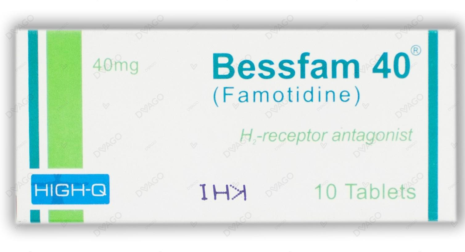 Bessfam 40mg Tablets 20's