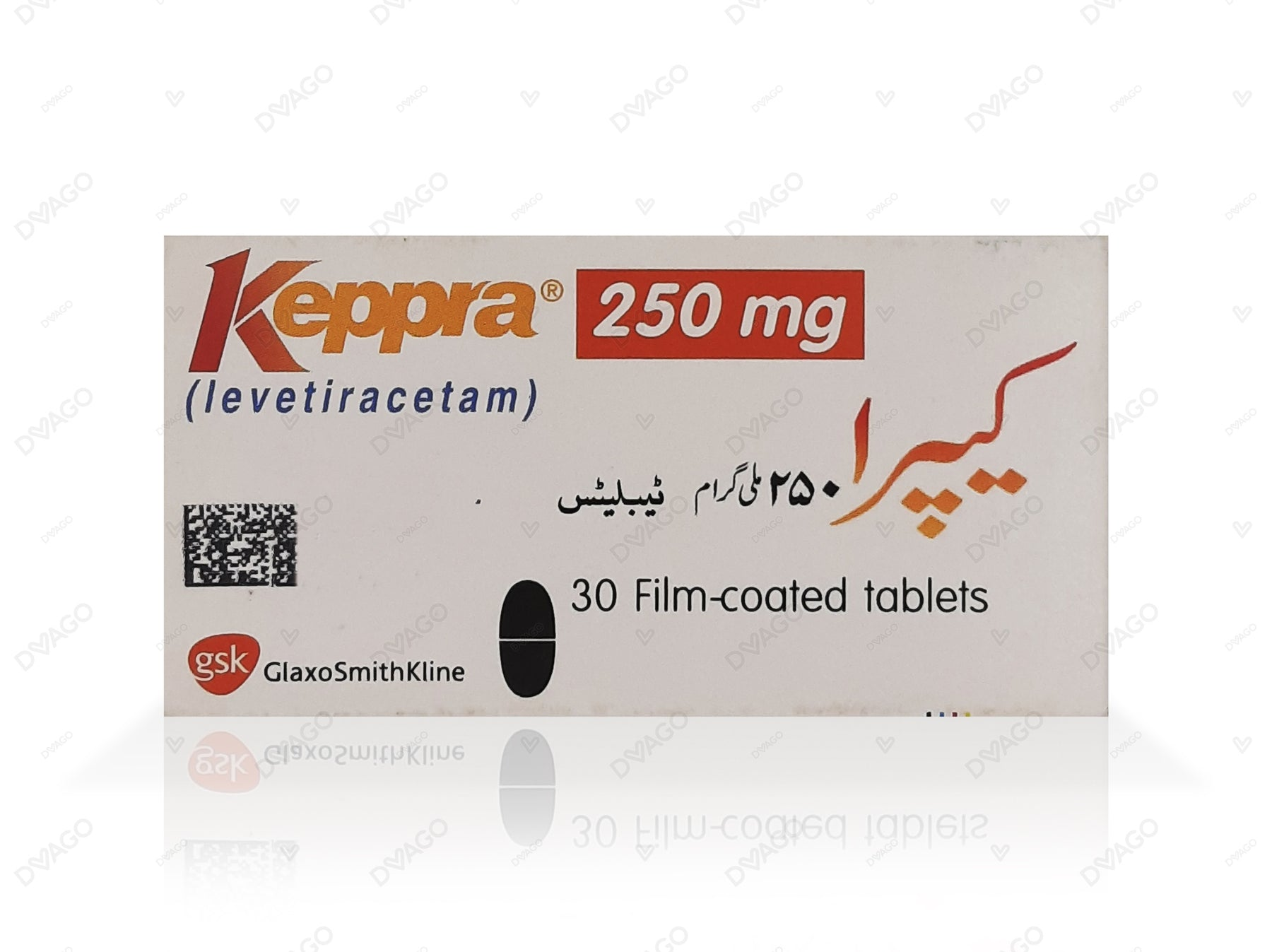 KEPRA 250MG TABLET 30'S