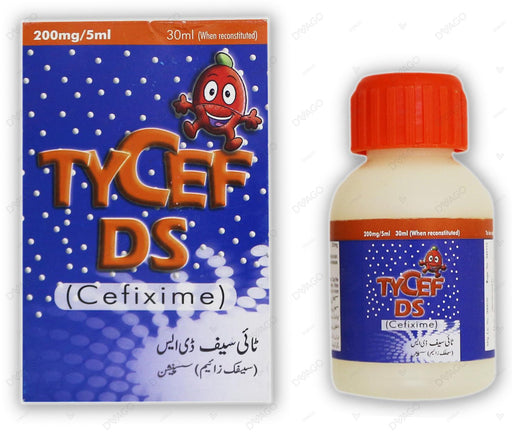 Tycef Ds 200mg/5ml 30ml Syp