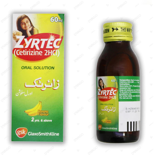 Zyrtec Oral Solution 60ml