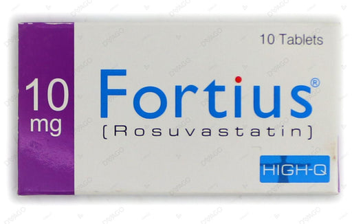 Fortius 10mg Tablets 10's