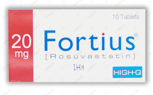 Fortius 20mg Tablets 10's