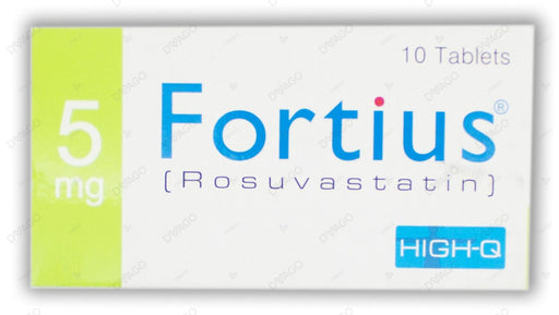 Fortius 5mg Tablets 10's