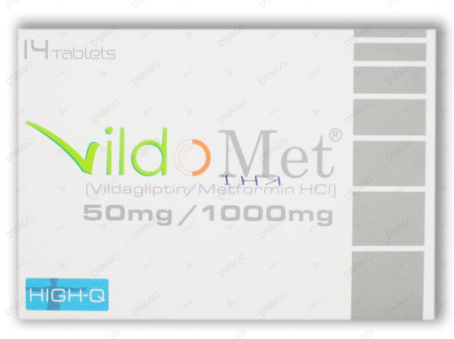 Vildomet 50/1000mg Tablets 14's