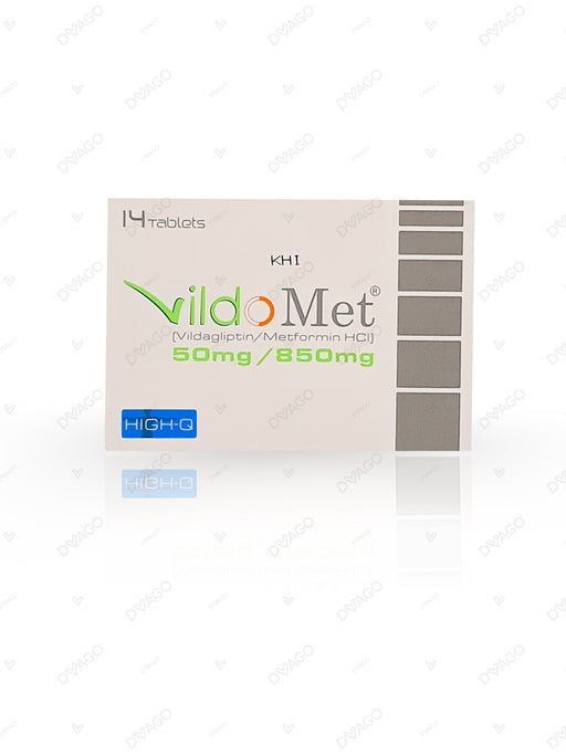 Vildomet 50/850mg Tablets 14's