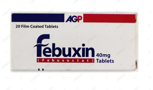Febuxin Tablets 40mg 20's