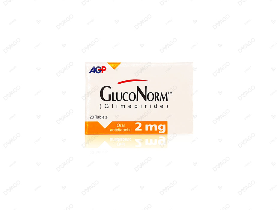 Gluconorm Tablets 2mg 2X10's