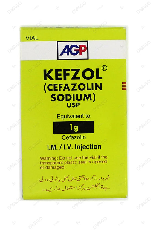 Kefzol 1g Injection