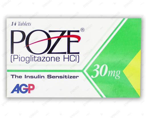 Poze Tablets 30mg 14's