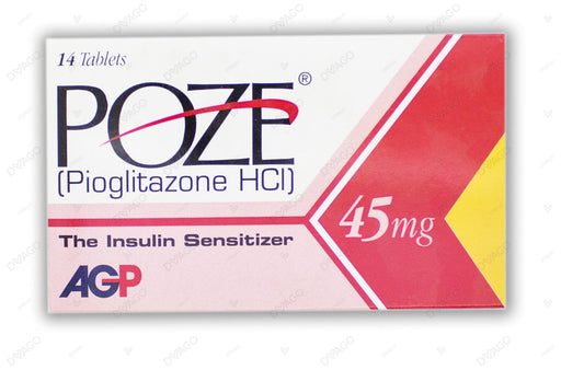 Poze Tablets 45mg 14's