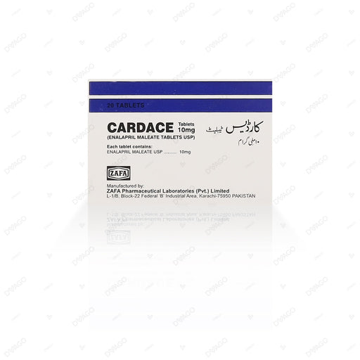 Cardace 10mg Tablets 1X20's