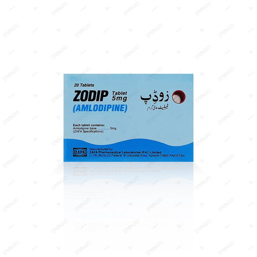 Zodip 5mg Tablets 1X20's
