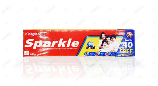 Colgate Sparkle Clove & Pearl Fluoride Toothpaste 200g