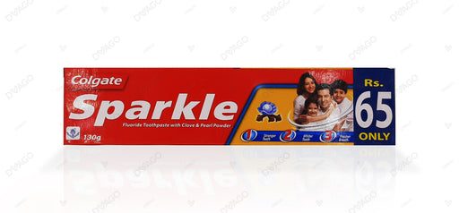 Colgate Sparkle Clove & Pearl Fluoride Toothpaste 130g