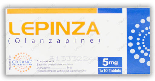 Lepinza 5mg Tablets 10's