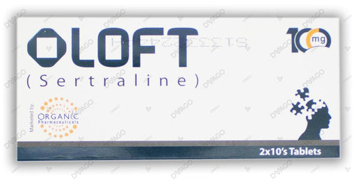 Oloft 100mg Tablets 2X10's