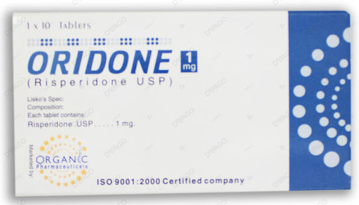 Oridone 1mg Tablets 10's