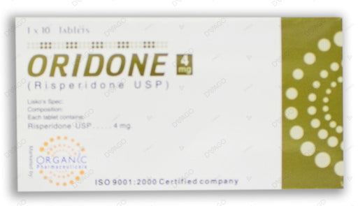 Oridone 4mg Tablets 10's
