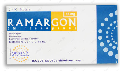 Ramargon 15mg Tablets 20's
