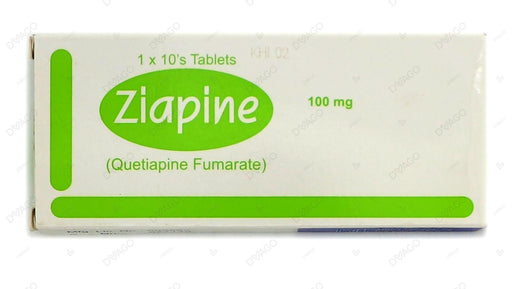 Ziapine 100mg Tablets 1X10's