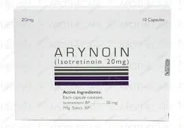 ARYNOIN 20MG CAPS 10'S
