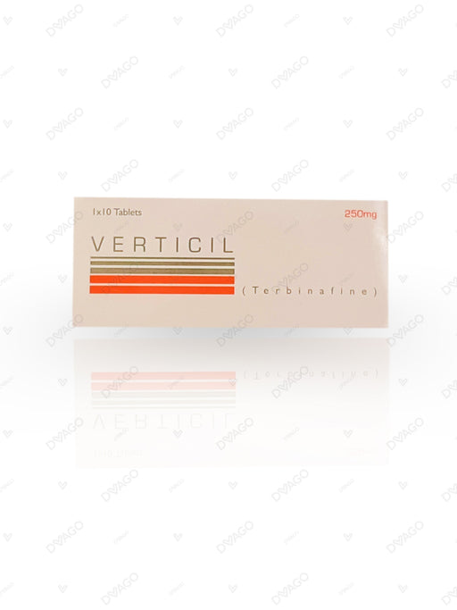 Verticil 250mg Tablets 10's