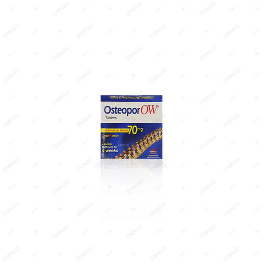 Osteopor Ow 70mg Tablets 4's