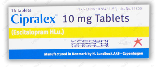 Cipralex 10mg Tablets 14's
