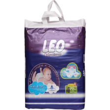 LEO BABY DIAPERS MEGA PACK LARGE 72C