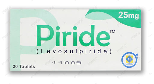 Piride 25mg Tablets 20's