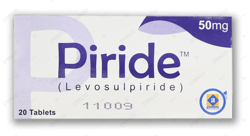 Piride 50mg Tablets 20's