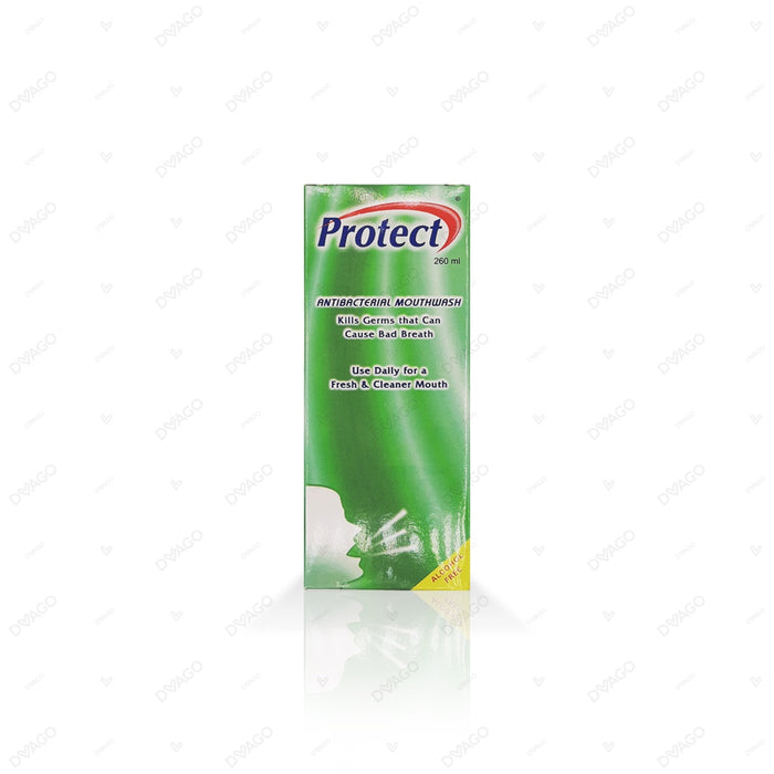 Protect Mouthwash Anti Bacterial 260ml