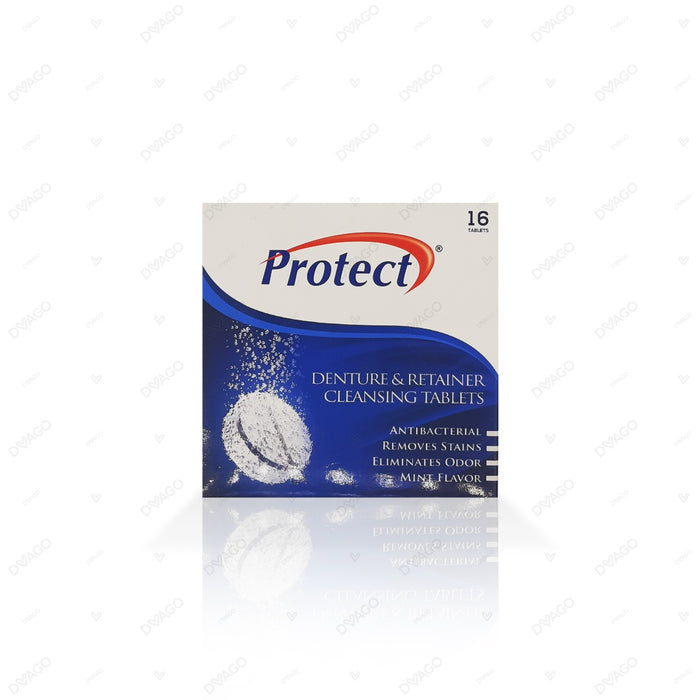 Protect Denture Cleansing Tablets 16's