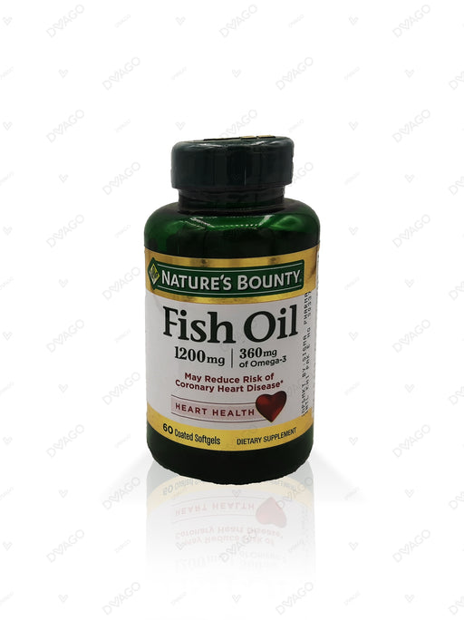 Nature's Bounty Fish Oil 1200mg 200 Softgels