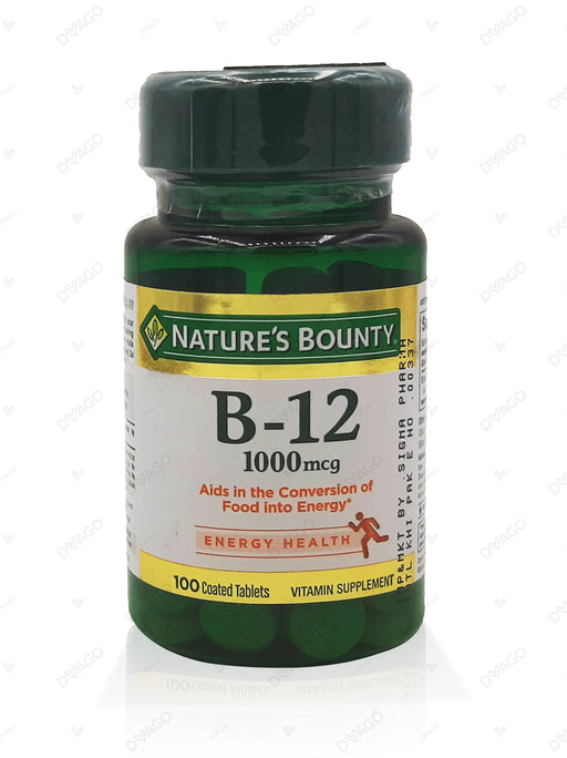 Nature's Bounty Vitamin B-12 Methylcobalamin 1000mcg