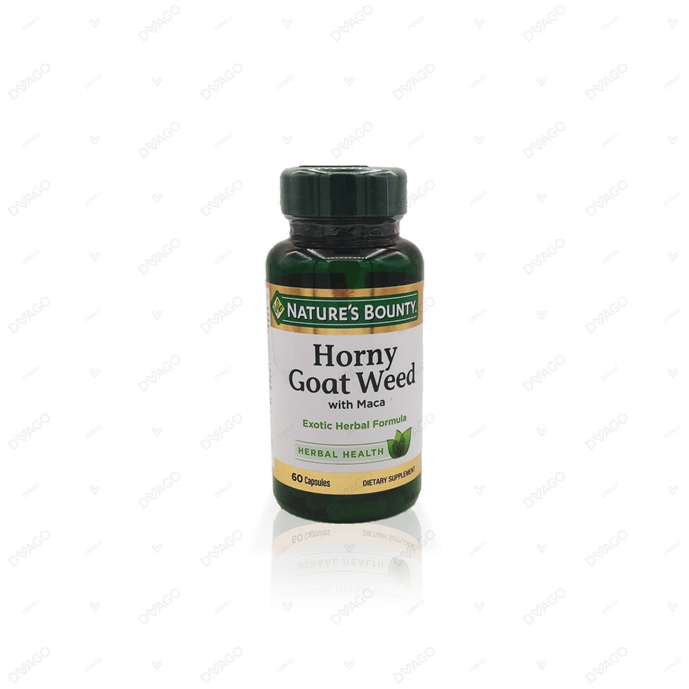 Nature's Bounty Horny Goat Weed 60 Capsules