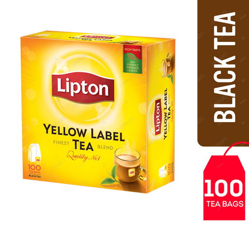 Lipton Yellow Label 100 Tea Bags