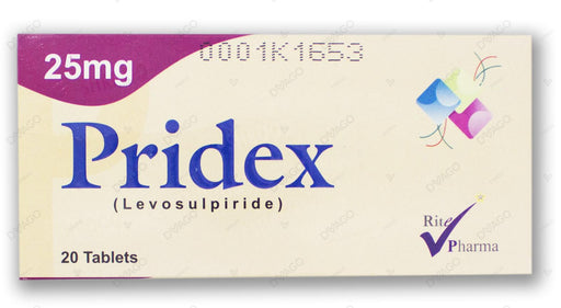 Pridex 25mg Tablet 20's