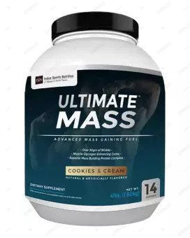 ISN Ultimate Mass Gainer Cookies And Cream 4Lb