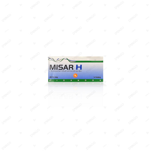 Misar H 40/12.5mg Tablets 14's