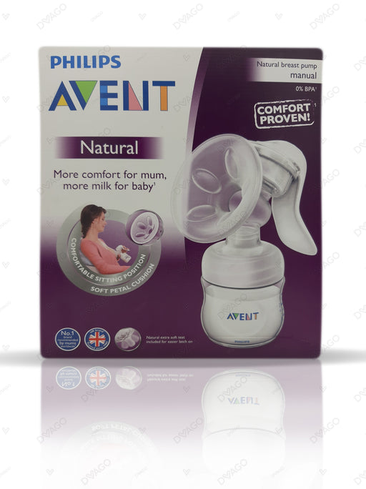 Avent Natural Manual Breast Pump SCF330/20