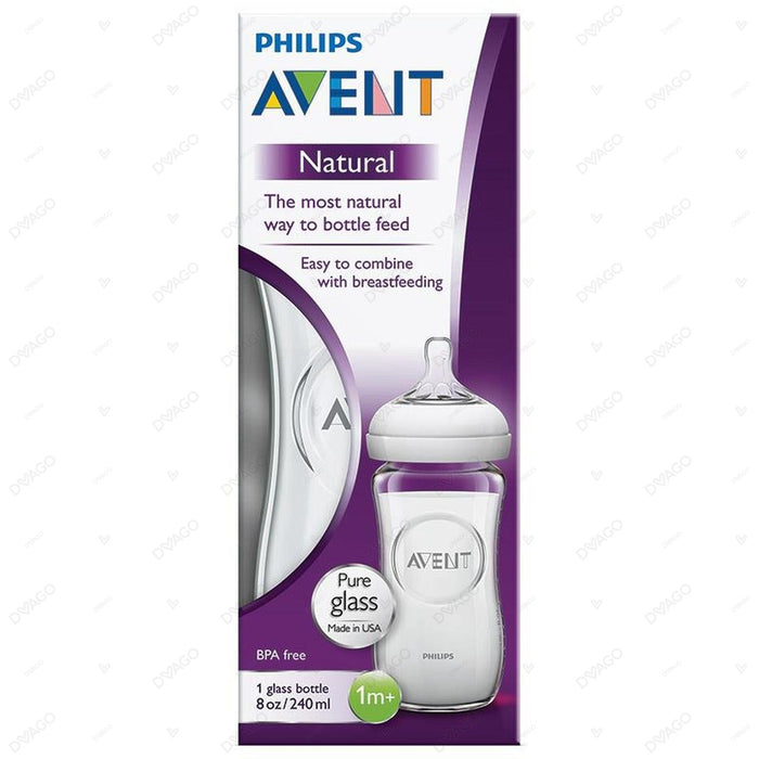 Avent Natural II Glass Bottle 240ml