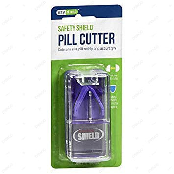 Ezy Dose Pill Cutter With Safety Shield